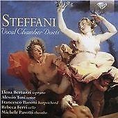 Steffani: Vocal Chamber Duets, Elena Bertuzzi, Alessio Tosi, Fr, Audio CD, New,
