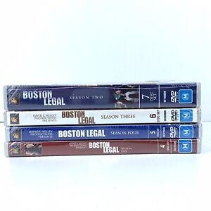 Boston Legal Complete Season's 2,3,4 & 5 New Sealed Region 4