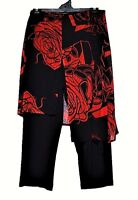 TS pants TAKING SHAPE plus sz XL / 24 Lady In Red Skants skirt/pant NWT rrp$110!