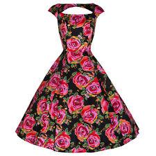 Unbranded Women's Cap Sleeve Knee Length 50's, Rockabilly Dresses