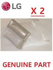 2X LG WASHING MACHINE 2 LINT FILTERS WF-451, WF-452,WE-452C, WF-651, WF-801
