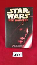 B247 - Star Wars: Red Harvest Hardback Hardcover First Edition