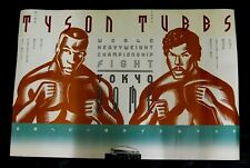 Mike Tyson vs.Tony Tubbs 1988 Official Poster Japan Tokyo Dome