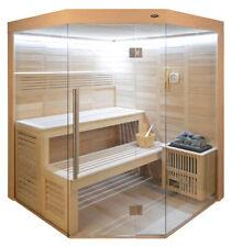 Sauna, Sauna komplett, Massivholz, Elementesauna HE 4017 - 160/160/210cm  B/T/H
