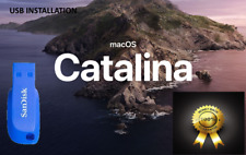 Flash Drive Installation macos Catalina  for Mac Pro,IMac ,MacBook,