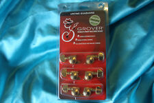 Grover Mini Mécanique Guitare de Verrouillage Rotomatics (Droit), 3+3, Doré