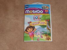 NEW, VTECH MOBIGO DORA THE EXPLORER LEARNING GAME