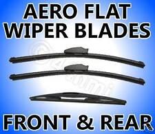 3 x Anteriore + Posteriore Aero Wiper Blades BMW e46 Touring 1999-2005