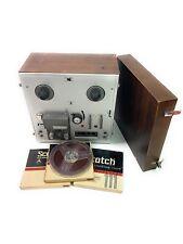 AKAI 1710W Reel to Reel Tape Player Recorder Vintage Tube HI-FI - With Extras