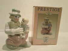 Porcelain Clown Figurine – Prestige Collector's Club - NIB