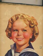 VINTAGE 1935  SHIRLEY TEMPLE SCRAP BOOK  100s of CLIPPINGS