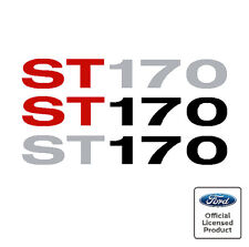 Ford Focus Mk1 ST170 Side Moulding Stickers Decals ST