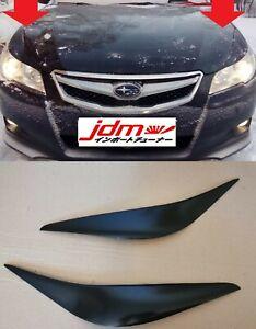 For Subaru Legacy BM Outback 2009-2014 Eyebrows Eyelids Eyeline Unpainted 2 pcs