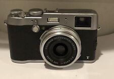 Fujifilm X100T 16.3MP Digital Camera with fixed 23mm f/2 lens Silver