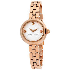 Marc By Marc Jacobs Courtney Silver Dial Ladies Rose Gold Watch MJ3458