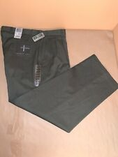 DOCKERS RECODE Gray pleated front Men's Pants DRESS CASUAL 34x30 NWT
