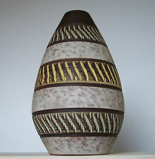 Vintage '70 DUMLER & BREIDEN West German Pottery Handmade Vase Fat Lava Period