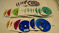 Lot of 76 Lightspan Adventures Educational Games for Playstation PS1 Homeschool