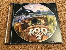 ULTIMATE COLLECTION ZOO TYCOON 2 PC CD-ROM DISC#2 ONLY TESTED+FREE SHIPPING 🔥