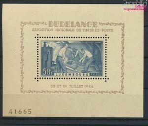 Luxemburgo Bloque 6 (completa edición) nuevo con goma original 1946 E (9616407