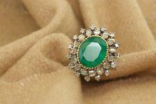 Antique 1.45 ct Polki Rose Cut Natural Diamond Ring