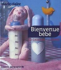 Livre - Bienvenue Bébé - 30 Cadeaux À Coudre - Idées  Marie-Claire