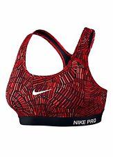 BNWT Women's Nike Tidal Medium Support Bra Top Red Sz XL 726935 657