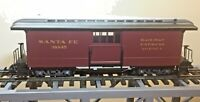 LGB 38845 SANTA FE BAGGAGE CAR   G SCALE  New In Box !!