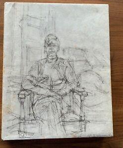 Alberto Giacometti Rien voila l`ordre, Nr. X`, unique: signed by Giacometti!