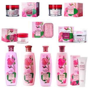 Rose of Bulgaria 100% Natural Soap Shampoo Conditioner Anti Age Cream Biofresh
