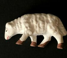 Vintage Lamb Sheep Figurine Made In Japan Hand Painted