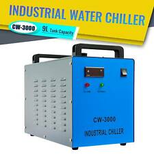 CW-3000 Industrial Water Chiller for 50-100W CO2 Laser Tubes Factory Equipment