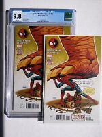 Spider-man/Deadpool #1.MU (Marvel, 2016) one bagged and one slabbed CGC 9.8