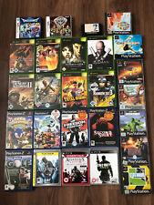 Lot of 26x video games PS1 PS2 PS3 Nintendo DS Xbox Classic Sega Good Titles