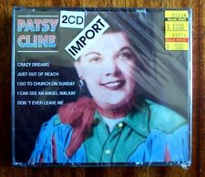 Patsy Cline, 2 CD Set, New Sealed, Import from Holland or England, K-BOX236