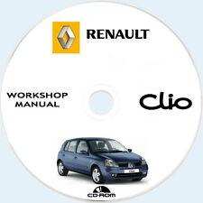 workshop Manual Renault CLIO II (X65),manuale officina e carrozzeria,