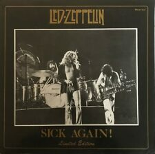 """LED ZEPPELIN """"Sick Again"""" 1977  RARE NUMBERED #14 YELLOW VINYL/BOOKLET NM"""