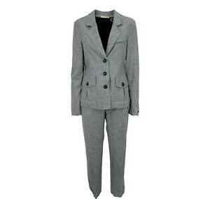 Hugo boss Suit Woman With Trousers Wanilla 50208337 Grey