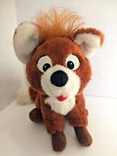 Fox and Hound Plush Vintage Tod Disney Knickebocker Vintage Todd 9 inch