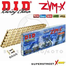 CATENA DID 530ZVM-X (Gold & Gold) 120 MAGLIE SUZUKI GSXR 1340 HAYABUSA ANNO 2014