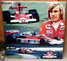 JAMES HUNT  World champion formula 1 Design 2 TRIBUTE CERAMIC TILE