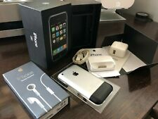 Apple iPhone 2G 1st First Generation Rare 4GB Handset Retail Box And Accessories