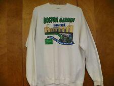 MEN'S 80'S BOSTON GARDEN 2 SIDED 1928-1995 (XL) BEIGE SWEATSHIRT