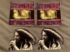 """Lot (4) Temple Of The Dog 4"""" x 4"""" Band Logo Stickers Fast Ship! Chris Cornell"""