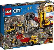 60188 LEGO MACCHINE DA MINIERA 883 PEZZI 7-12 ANNI NUOVO SIGILLATO