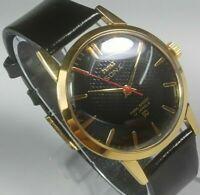 Vintage Hmt Sona 17J Hand Winding Movement Mens Wrist Watch A247