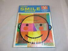 Vtg 60s Mid Century Unicef SMILE Jigsaw Puzzle 200 Pcs MOD Pop Art SEALED