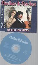 CD--FISCHER & FISCHER --SUCHEN UND FINDEN--3 TRACKS-