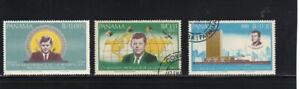 PANAMA #473-473B  1966  J.F.K   MINT VF NH O.G  CTO  a