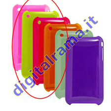 Cover in TPU Giallo x iPhone 3G/3GS